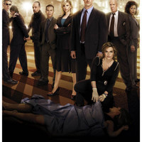 Law and Order: SVU Cast Poster 11x17