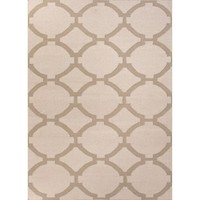 Chain Neutral Taupe Flat Weave Rug