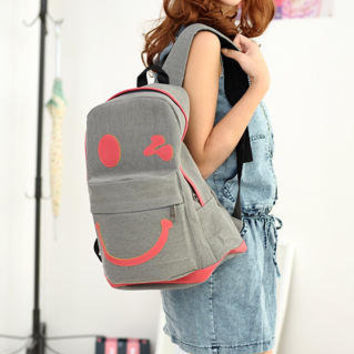 YESSTYLE: 59 Seconds- Smile Backpack (Gray) - Free International Shipping on orders over $150