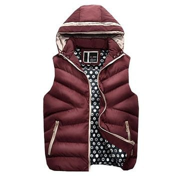 Ultra Light Mens Down Jacket 2017 Winter Sleeveless Ultra Thin Warm Coat Plus Size Male Hooded Goose Down Jacket Chaqueta Hombre