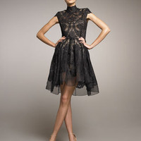Stella McCartney - Lace Full-Skirt Dress - Bergdorf Goodman