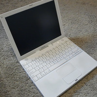 Apple iBook 12.1-Inch Laptop, G4 iBook 1.33GHz Processor, White