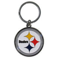Pittsburgh Steelers Enameled Key Chain