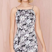 After Party Vintage Pulp Addiction Dress - Floral