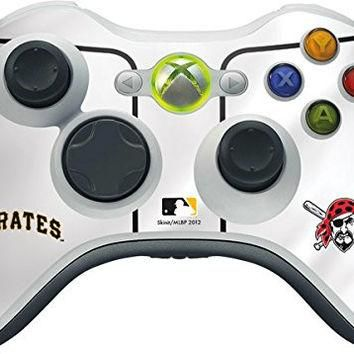 MLB Pittsburgh Pirates Xbox 360 Wireless Controller Skin - Pittsburgh Pirates Home Jer