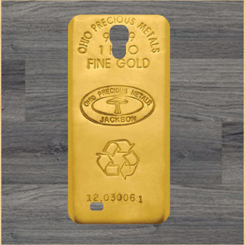 Gold Bar  iPhone 4 and 5 Case and Samsung Galaxy S3/S4