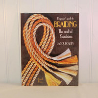 Beginner's Guide To Braiding, The Craft Of Kumihimo by Jacqui Carey Paperback Book (c. 2002) Japanese Braiding, Kumihimo Braiding, Gift Idea
