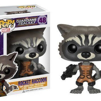 Funko Pop Marvel Guardians of The Galaxy Rocket Raccoon Vinyl Bobblehead Figure
