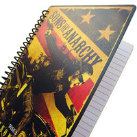 Sons of Anarchy Notebook Journal Eco Friendly