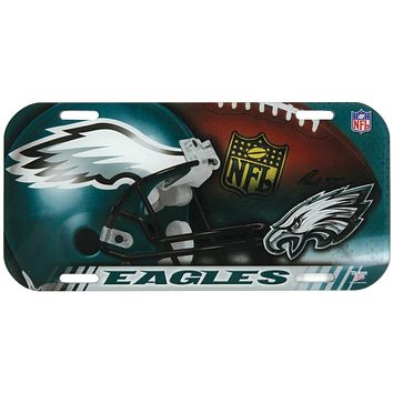 Philadelphia Eagles - Collage High Def Lic Plate