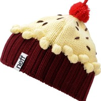 Neff Red Velvet Light Pastel Cupcake Beanie