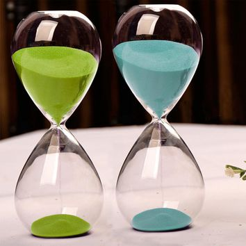 10 Minutes Transparent Glass Sand Timer