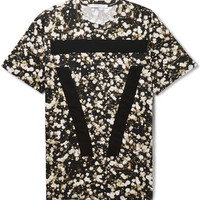 Givenchy - Floral-Print Cotton T-Shirt | MR PORTER