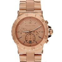 Michael Kors | Michael Kors Rose Gold Bracelet Watch at ASOS