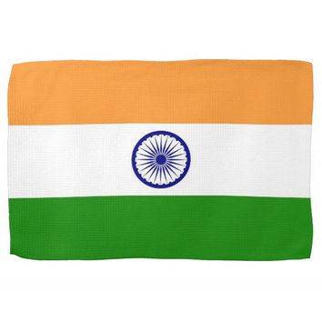 Kitchen towel with Flag of India