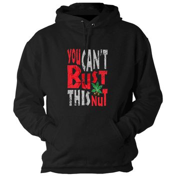 You Can't Bust This Nut Hooded Sweatshirt Ohio State Buckeyes