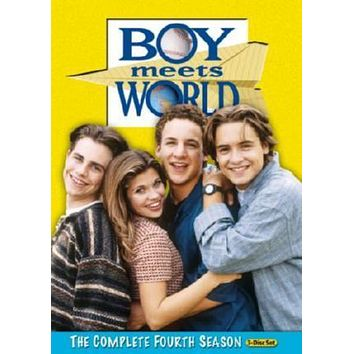 Boy Meets World Tv poster Metal Sign Wall Art 8in x 12in