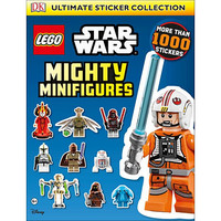 Star Wars LEGO Mighty Minifigures Ultimate Sticker Collection Book