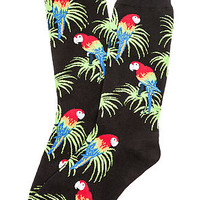 The Parrot Socks in Black
