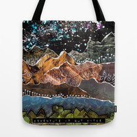 Adventure Is Out There Tote Bag by Jenndalyn