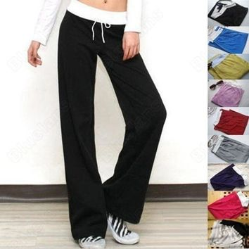 Ladies Girls And Women Yoga Casual Long Pant ( Free Size ) = 1932567172