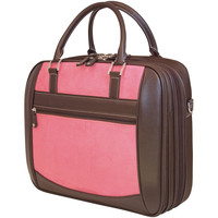 "Mobile Edge 16"" Pc And 17"" Macbook Scanfast Element Briefcase (pink Suede)"