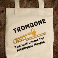 Intelligent Trombone (Front and Back Image)