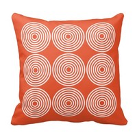 Modern Abstract Circles Pillows