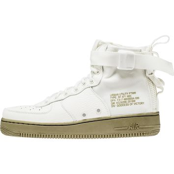 Tagre™ Beauty Ticks Nike Sf Air Force 1 Mid Men's Shoe - Ivory/cargo Khaki {the Price Tells The Quality}