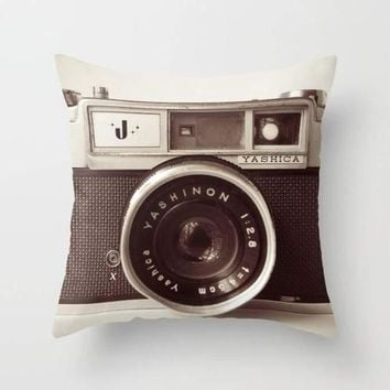 Camera Cushion/Pillow