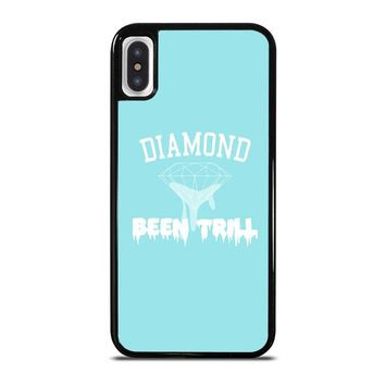 DIAMOND BEEN TRILL iPhone X Case Cover