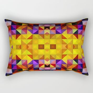 The golden way Rectangular Pillow by Jeanette Rietz