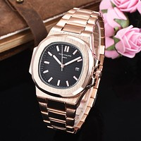 8DESS Patek Philipp Women Fashion Quartz Movement Wristwatch Watch