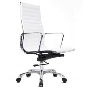 Ludlow High Back Office Chair White - Office