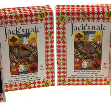 Poker Lovers Party Gift Set Jack Snak Spicy Snacks Las Vegas Playing Cards Lot 4