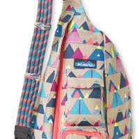 Monogrammed Kavu Rope Bags - Range - Great gift for College, Teens, Women, Outdoors Satchel Crossbody Tote
