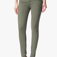 Mid Rise Skinny In Fatigue | 7 For All Mankind