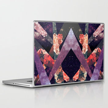 ROSES IN THE GALAXY Laptop & iPad Skin by Vasare Nar | Society6