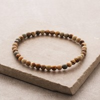 Picture Jasper Mini Gemstone Energy Bracelet