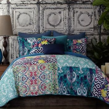 Tracy Porter® Poetic Wanderlust® Florabella Comforter Set in Teal