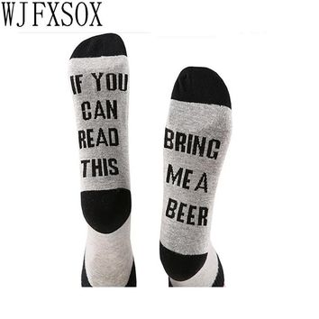 IF YOU CAN READ THIS Socks Women Funny