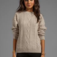 Central Park West Caribou Pullover in Oatmeal from REVOLVEclothing.com