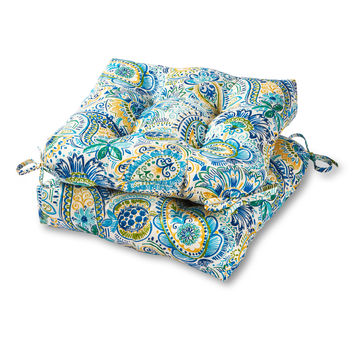 """Coastal Collection 20"""" Outdoor Seat Cushion - SET OF 2"""