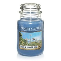 Yankee Candle Blue Summer Sky Large Jar Candle, Fresh Scent