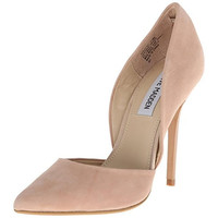 Steve Madden Womens Leather Suede D' Orsay Heels