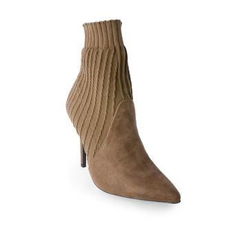 Olive Melissa Knit Booties