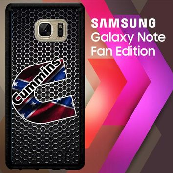 Cummins Diesel Logo Z4274 Samsung Galaxy Note FE Fan Edition Case