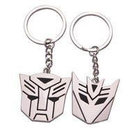 Vintage Transformers His and Hers Couples Keychains | christinepurr - Novelty on ArtFire