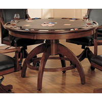 Hillsdale Furniture 4185GTB Palm Springs Medium Brown Cherry Game Table