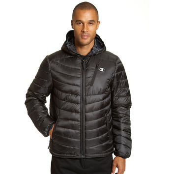 Champion Mens Tall Packable Performance Jacket With Reactive Fill